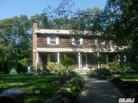 Fabulous 5Br Colonial!Country Club Yard W/New Heated Salt Pool W/Elect Solar System,Stone  Patio& 20X40Deck!Great Rm20X25,  Dr W/Fplc,Huge Country Kit,Room  For Mom On Lower Level.Marble  Foyer,Beautiful Landscping.Tax  With Star 13,518.66 This Home Is A Must See! Taxes Being Grieved.