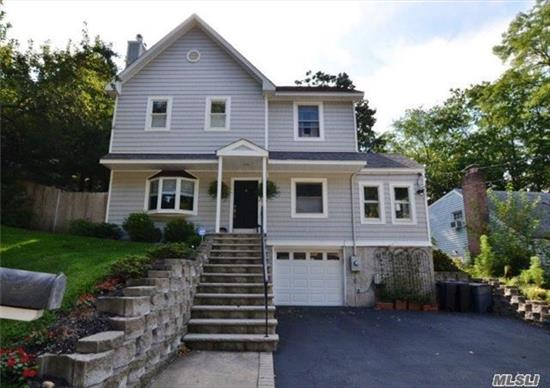 Truly A Gem In The Heart Of Huntington! Walking Distance To Village! Beautiful Updated Colonial, 3 Bedrooms/2.5 Baths. Gorgeous New Kitchen W/Breakfast Bar. Sun-Drenched Rooms W/Newly Finished Wood Floors Throughout. Private Backyard, Professionally Landscaped W/Pool W/New Liner.