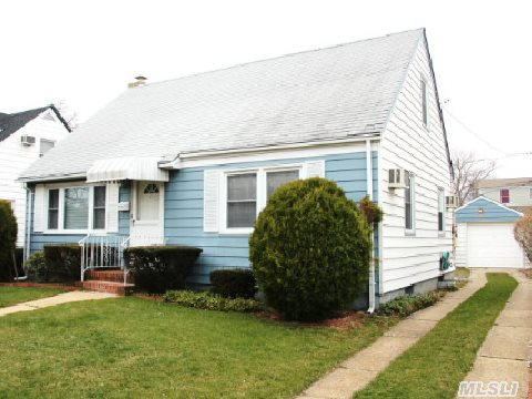 *Rare Find* Super Well Maintained,  Rear Dormered Expanded Cape Is Located Mid Block On A Nice Quiet Street!  This Home Has Hardwood Floors On Both Levels,  Full Unfinished Basement With High Ceilings (Not Common In The Area) Plus A Detached 1.5 Car Garage & Spacious Backyard!  This Home Is Ready To Go,  Come See Today!
