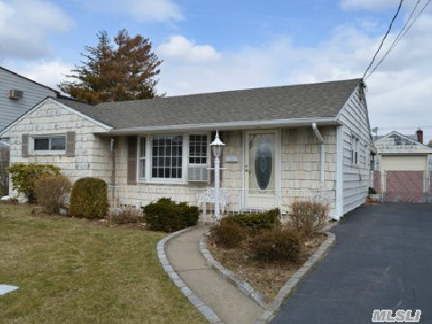 Great Starter Home!! Has What You Need To Start Your New Adventure!! 3 Bedroom Ranch In Plainedge School District #18 Offers Updated Full Bath, Living Room, Dining Area, Eat-In Kitchen, New Doors, Freshley Painted, All New Floors, New Moldings, Detached 1.5 Garage And Patio.