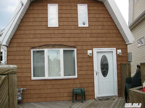 Rare Find And A Best Buy This Waterfront Cape Has It's Own Boat Garage.Great Views, And Many Updates New Eik,  New Fbth,  New Heating System And More