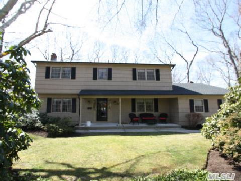 Beautiful Traditional 4Br 2.5 Bath Colonial In Prime Location W/Full Basement, Oak Floors, Lg Great Room W/Fireplace, New Heating Sys,  New Roof(2011), Burgular And Fire Alarms, New 50 Gal Sep Hw Heater(2011), Cac, Natural Gas Heat, Large Covered Rear Porch Overlooking 1/2 Acre Parklike Grounds & More. This Home Is On A Cul-De-Sac Located In A Great Quiet  Desirable Neighborhood.