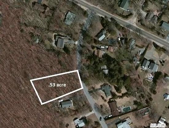 Level Wooded Lot Located In Very Desirable Corey Creek Estates. Deeded Creek Rights With Deeded Beach And Boat Ramp. Fantastic Opportunity To Build Your Dream Home On The North Fork! Close To Town And Beautiful Cedar Beach.