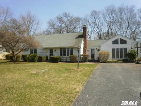 Beautiful 4 Bed/2 Bath Farm Ranch Located Within The Maplewood Section!.62Ac Inground Pool, Corner Lot, Full Finished Basement. Come See!..Taxes W/Star $10,626.37