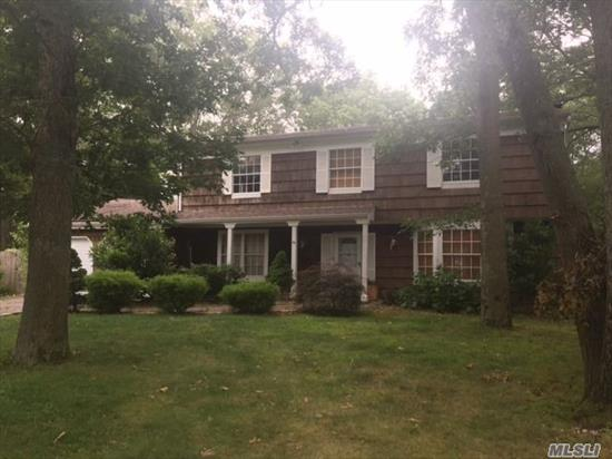 Very Large 6 Bedroom Colonial. All Utilities In Good Working Condition. Possible Ground Level Apartment With Proper Permits. Priced To Sell.