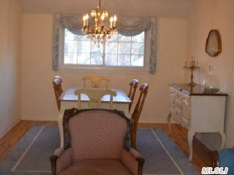 Generously sized Dining Room Adjoins Living Room to acommodate family gatherings