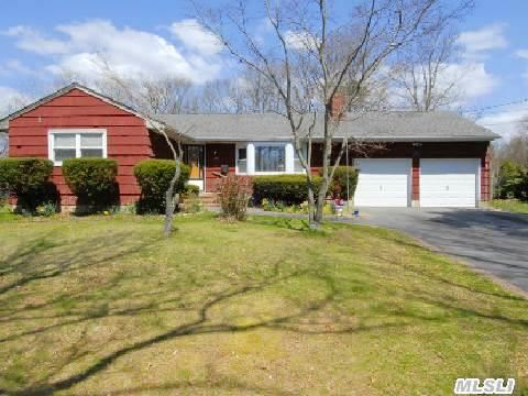 Expanded, Spacious 4 Bedroom, 2 Bath Ranch On A Shy 1/2 Acre!!!!  Newer Roof, Driveway, Cac & Windows. Hardwood Floors Throughout. Taxes With Star $8859.66. Taxes Are Grievable. Must See!!