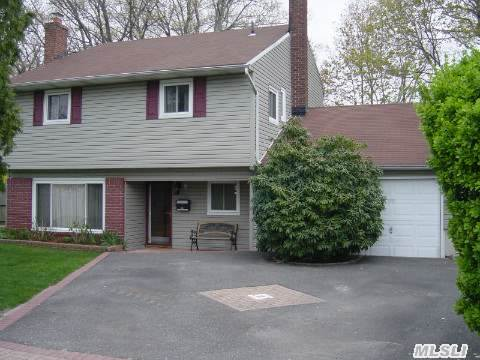 Well Maintained 4 Bedroom,  4 Level Split. Extra Large Bedrooms,  High End Stainless Steel Appliances,  Professional Dual Fuel Range,  Hardwood Floors Throughout. Removed From Oakwood Rd By An Island. South Huntington Sd#13. Taxes W/Star $8, 152.35
