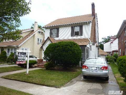 Classic Side Hall Colonial With Hardwood Floors And 4 Full Levels,  Needs Some Updating.  Taxes Do Not Include A Star Discount Of $745.43