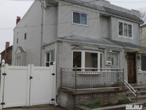 Lovely 1 Fam, 6 Rms, 3 Bdrms, 1.5 Bths, Pvt Drvwy, Pvt Yrd W/ Ag Pool W/ Deck, New Siding, Boiler 3 Yrs Old, Roof 2 Yrs Old, Hdwd Flrs Thruout, Ceramic Tile In Kitchen & Bsmt, Near Ps 128 School & Transportation