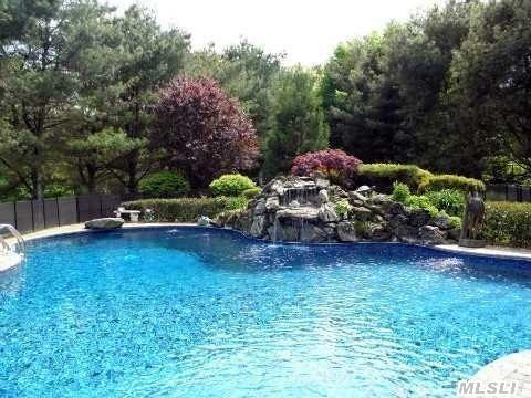 Mountain Lake Pool with Waterfall!