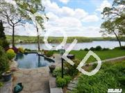 Magnificient Sprawling Ranch Set On 1A Overlooking Northport Hbr W/Dock, Pool & Beautiful Mature Landscaping. Waterviews From Almost Every Room. Bright & Airy Flr Plan W/Cath. Ceiling,  Windows Galore,  Granite,  New Stainless Appls. & Slding Drs. Nestled In A Serene Area Ofcenterport. Perfect For Entertaining Or Relaxing By The Beautiful Pool W/Wtrfall Overlooking The Hbr