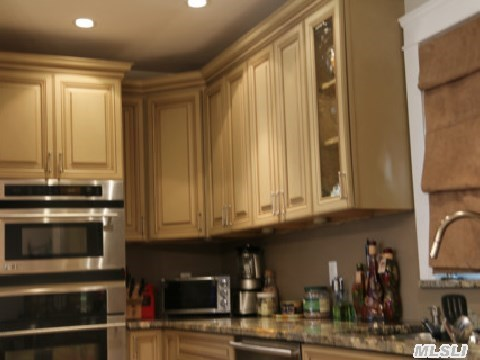 Stainless steal appliances.  Sub zero refrigerator.