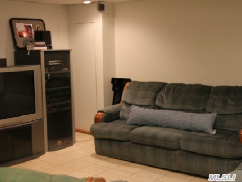 Lot's of living space in the basement.