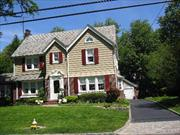 Totally Remodeled Center Hall Colonial With Beautiful Architectural Details.  Oversized Rooms. Living Room/Fpl, Fdr, Fr, Eik, Finished Basement And Finished Walk-Up Attic. Cac, Sprinklers, Alarm.  Too Much To Describe.