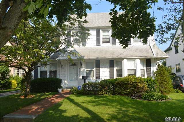 Lovely Colonial On Quiet Street In The Heart Of Rockville Centre.
