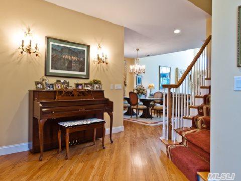 Entry Foyer Facing Living Room