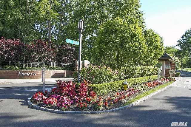 One Of The Most Desirable Gated Communities On Long Island's North Shore-Estates 11! The Coronado Model Offers 2/3 Bedrooms,  3 Baths & Spacious Floor Plan W/ Vaulted Ceilings. Clubhouse,  Swimming Pool,  Fitness Center,  3 Tennis Courts & 24 Hour Gated Security. Less Than A Mile To The Miracle Mile! Premier Luxury Shopping & Restaurants. Only 28 Minutes To Manhattan!