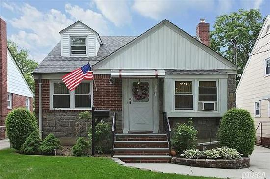 Charming Cape Located On A Prime Dead-End Street In The Heart Of The Village. Kitchen W/Bleached Oak Cabinets And Separate Large Dining Area. 4 Bedrooms And Two Full Baths With Large Finished Basement Complete This House.