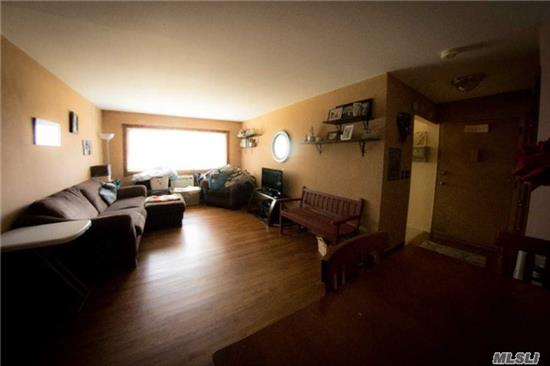 Don't Rent!! Buy This 1 Bedroom Co Op And Get Benefits Of Ownership For A Lot Less Than Rent, Hardwood Floors, Great Location Close To Parking, Laundry. Needs Some Updating. Pet Friendly!! Maintenance With Star Approx $590, Includes All Taxes, Heat And Hot Water, Use Of Pool, Gym And Clubhouse!