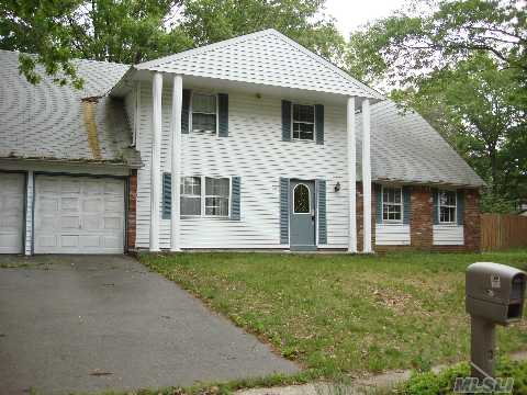 Large Center Hall Cac Hardwood Floors Updated Boiler. Sold As Is. All Very Large Rooms