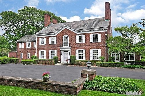 Magnificent Colonial With Amazing 1.75 Acres Property,  Beautiful Flow,  Second Floor Master Suite With Large Terrace,  Bath And Huge Walk-In Closet,  Plus 4 Additional Brs And 3 Bth,  Plus A Separate 2 Br,  1 Bth,  Laundry Room Maids Quarters. 3 Floor 2 Br,  1Bth. Multi-Zones Heat & Cac. Gorgeous Backyard W/Ig Heated Pool And Cabana. Circular Driveway.