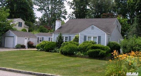 This Home Is Like Buying New Construction,  Everything Has Been Redone From Top To Bottom!!! You've Got To See It To Believe It!!!Taxes With Star Program Are 10, 192. Brazilian Cherry Floors,  Marble Fireplace,  Cac,  Plantation Shutters.  Minutes To Huntington Village.1Hour To Manhattan. 1 1/2 Hours To The Hamptons.Open Floor Plan.