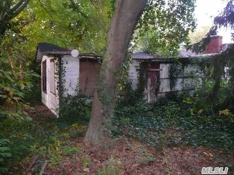Builder's Dream! House Is A Knock-Down And Being Sold As-Is; 50X200 Property; Drive By Only & Use Caution When Walking Property; Seller Not Making Any Representations Or Warranties; Taxes Are Without Exemptions;