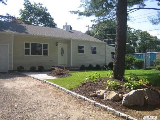 Totally Renovated From Top To Bottom! Beautiful 3 Bedroom 2 Bath Split Level Home With Quality Throughout. All New; Kitchen With Maple Cabinetrty,  Granite & Ss Appliances,  Designer Baths,  Oak Floors,  Architectural Roof,  Siding,  Windows,  Heating,  Plumbing,  Electric,  Driveway,  Patio. Taxes For 2014 - $6708 With Star. Don't Miss!!!