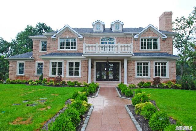 Luxurious New Construction In Prestigious Village Of Great Neck Estates. Grand Entrance With Bridal Staircase Huge  Granite Gourmet Kitchen With Custom Cabinetery And Finest Appliances,  6 Bedrooms,   5.5 Bthrooms. 10' Ceiling Full Basement With French Doors To Manicured Large Property. Energy Star. Radiant Heat, Cac. Security Camera,  Central Vac,  Sprinkler,  Sound System.