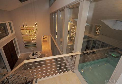 Sleek, New, Modern Right Out Of The Latest Home Design And Fashion Magazine. Rosewood And Zebra Wood Appointments, Maple Flooring And Closet Fittings. Special Baths, Volume Ceilings, Floor To Ceiling Windows. Indoor Pool, Tennis Court, End Of Cul-De-Sac Location On Former Estate Grounds.