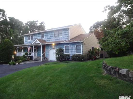 Beautiful Colonial Situated On A 1/2 Acre + On A Cul-De-Sac!,  Central Air,  Hardwood Flooring,  Anderson Windows,  Newer Roof,  Finished Bsmnt,  New Stainless Steel Appliances,  Granite Counters,  Professionally Landscaped Yard With Igs And Circular Driveway.  Must See!