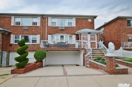 This Is The One! High End Updates And Upgrades: New Pavers Front And Rear With Professional Landscaping. New Chef's Ei-Kitchen,  New Boiler,  New Hot Water Heater,  4 Art Cool A/C Units,  Gleaming Wood Floors.  Finished Basement.  Approx 2650 Sq' Of Living Space