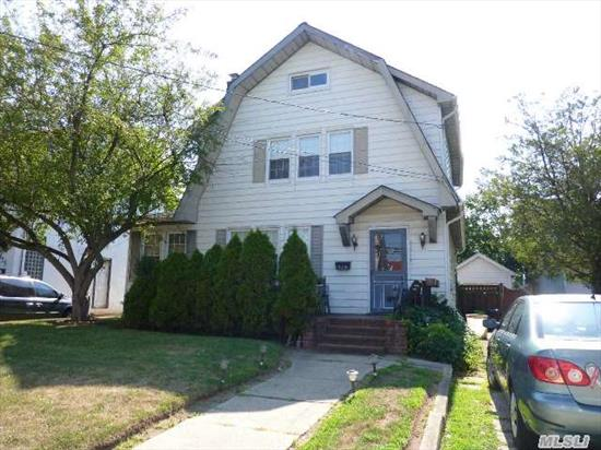 Classic Side Hall Colonial In The Heart Of Cedarhurst.  Walk To All.  4 Bedrooms,  1.5 Baths.  Not In Flood Zone.  Taxes Do Not Include A Star Discount. Sold In As-Is Condition.