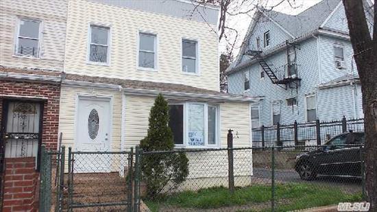 Property Fully Renovated. Ready Move In Condition Has Detached 2 Car Garage. Zoned For Leonardo Da Vinci School. 12 Minutes Walk To 7 Train.  Updated Electric,  Plumbing,  Heating,  Windows,  Roof,  Floors Kitchens,  Bathrooms And Much More.