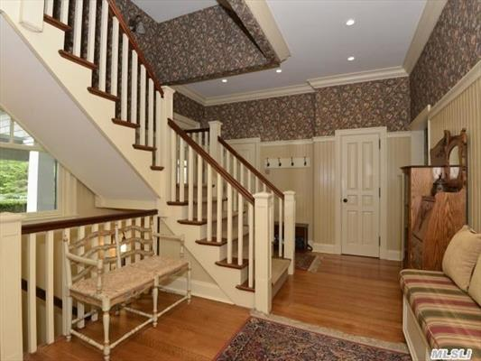 Mudroom With Backstairs to 2nd Floor