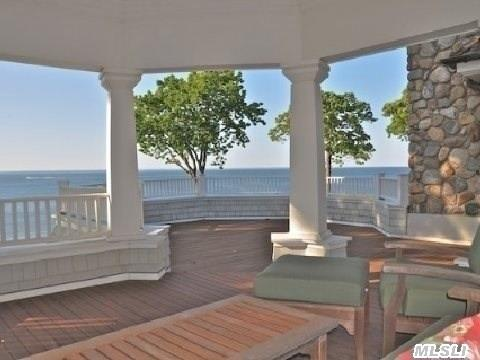 Expansive 2nd Floor Deck With Covered Area