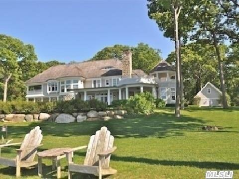 Personally Landscaped Usable 2 Acres With Sweeping Lawn To Bulkhead