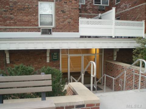 Newly Renovated Large Co-Op Studio For Sale. New Wall To Wall Carpeting, Kitchen And Bathroom. 4 Closets-Yes, 4 Closets!(Incl. A Very Large Walk-In Closet),Swimming Pool,Laundry Room, Parking Lot And Close Walking Distance To Lirr.