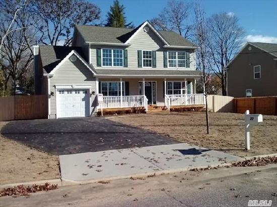 Energy Star Home/ Must See!!!  Village Of Lake Grove/Features Top Of Line Eat  In Kitchen/Granite/Ss Appls/Custom Mouldings/Hardwood Floors/ A Must See!!!