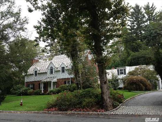 Classic Walter Uhl 5 Bedroom 4.5 Bath Beautiful Side Hall Colonial In Desirable Roslyn Estates.  Elegant Living Room W/Fireplace Large Formal Dining Room And Dramatic Family Room With Cathedral Ceiling And Fireplace. Bright And Sun-Filled Rooms And Skylights.  Updated And Lovely.  Gorgeous Wooded And Usable Property.