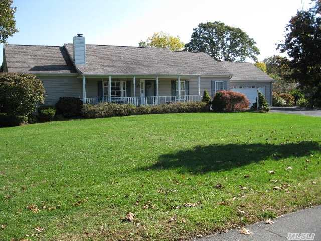 Located In Peaceful Tiana Shores,  This Beautifully Landscaped Ranch Offers 4Br,  2Ba,  Cac,  2-Car Garage, Room For Pool.  Moments Away From Bay And Tsa Beach.  East Quogue And Whb School Districts. Perfect As A Year Round Residence Or Vacation Home.