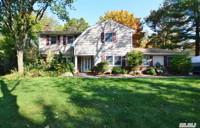 Well Maintained,  Updated Colonial/Split Located In The Triangle Section Offers Many Updates Including Andersonwindows, Sliders, Roof,   Cac, Paver Walks And Patios, Heating System, Siding, See Attached Amenity List.