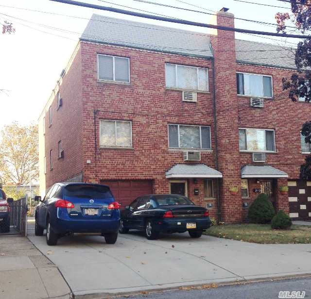 Semi-Detached 2 Family With Walk-In,  Box Rooms,  Great Shape,  Roof In Good Shape,  Private Driveway.  Only A Half Block Away From Grover Cleveland Playground.  This Home Is Being Sold By Its Original Owner Who Purchased It In 1966.  The Interior Has Been Immaculately Maintained And The Appliances Look As If They Have Never Been Used.