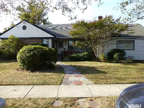 3 Bedroom Ranch In The Heart Of Far Rockaway. Finished Basement,  Cac,  Great Property.