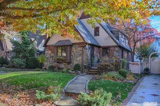 Charm And Character Abounds This Beautiful Classic Tudor In The Heart Of Merrick Woods! Updates Include New Roof & Kitchen, Updated Baths,  Brick Pavers,  Drwy,  Igs,  Gas Conversion. Don't Miss This Wonderful Home On A Beautiful Block In The 'Woods'! Taxes Do Not Reflect Star Exemption.