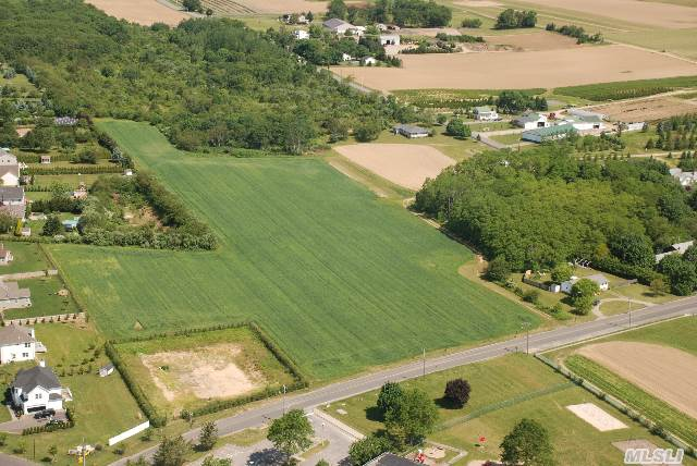 Great Location! 15.6 Acre Farm With Concrete Barn. Perfect Access With 2 Road Frontages. Perfect For A Vineyard,  Horse Farm,  Nursery Or Crop Fields. You Can Build 1 Custom Home On A 6000 Sq Ft Floating Envelope.