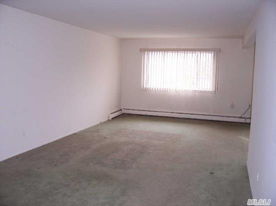 Oversized 2 Br,  2Bth Unit W/ Terrace And Pkg Spot.  Lots Of Closets.Laundry Rm On Floor.
