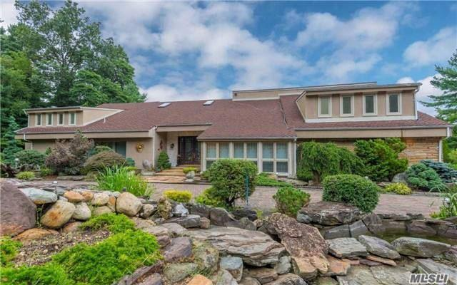 Bonus Seller Will Pay First Years Taxes ! Incredible Opportunity To Move Into Oyster Bay Cove! Sun Filled Unique Contemporary Set On Over 2 Custom Designed Acres With Stone Waterfall. 6 Bed/5 Bth, Flr, Fdr, Gourmet Kitchen, Master On The First Floor, Den, Rec Room, Sauna. Entertain All Summer Long With An Ig Gunite Pool, Jacuzzi, Outside Kitchen With Beautiful Stone Terraces And Gated Entrance. Assessed Value $3, 000, 000! Taxes Being Grieved Substantially.