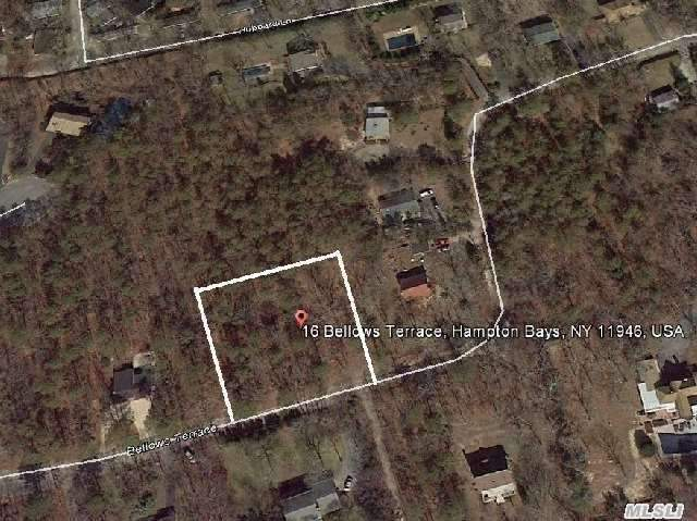 Secluded Half Acre Wooded Lot. R-20 Zoning District. Close To All.